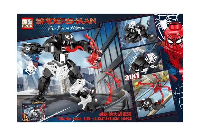 Человек-паук против Венома | аналог LEGO 76115 ...
